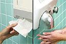 Электрические сушилки для рук способствуют распространению бактерий
