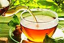 Черный чай полезен для лица