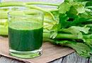 Прием сока сельдерея каждое утро улучшает цвет лица